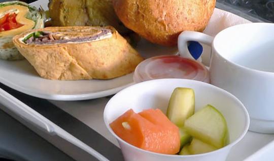 yemek, uçak