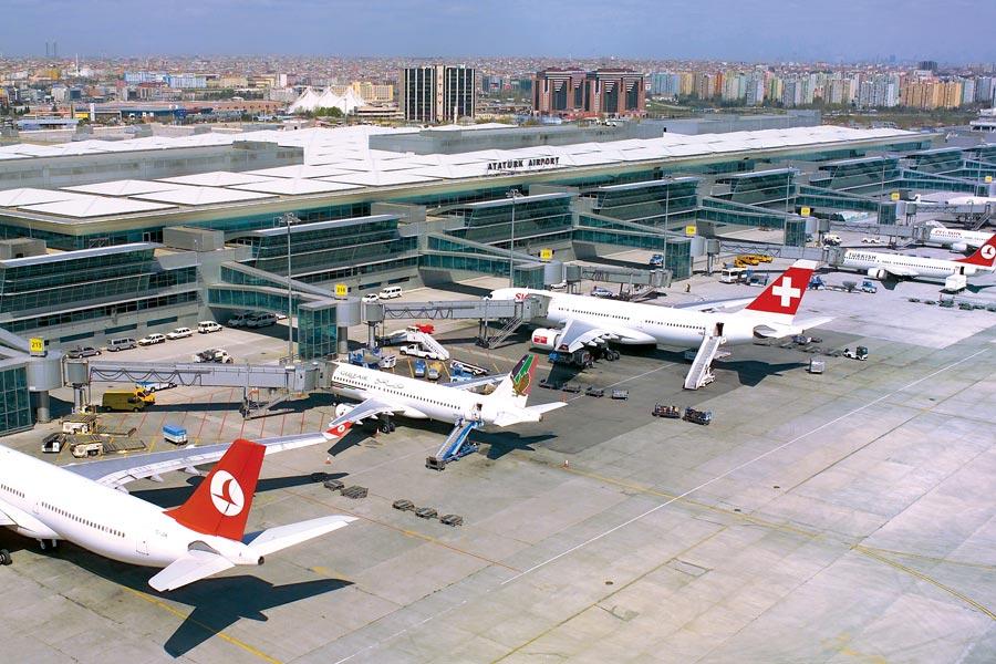 Atatürk, havalimanı, Istanbul, bilet