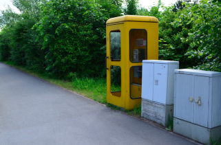 telefon kulübesi