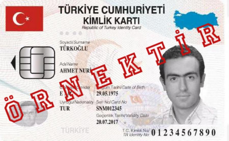 Son,Kimlik,nüfus cüzdanı,türk