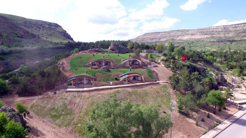 Sivas yamaç evler