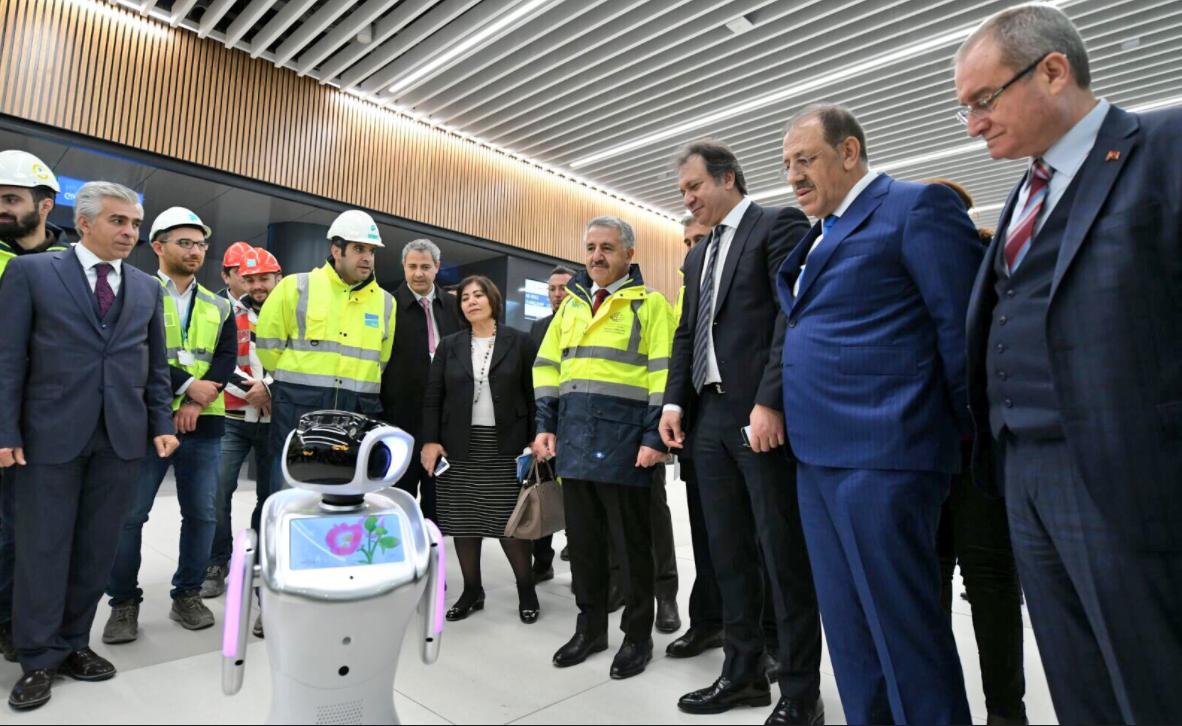 Robot,havalimanı