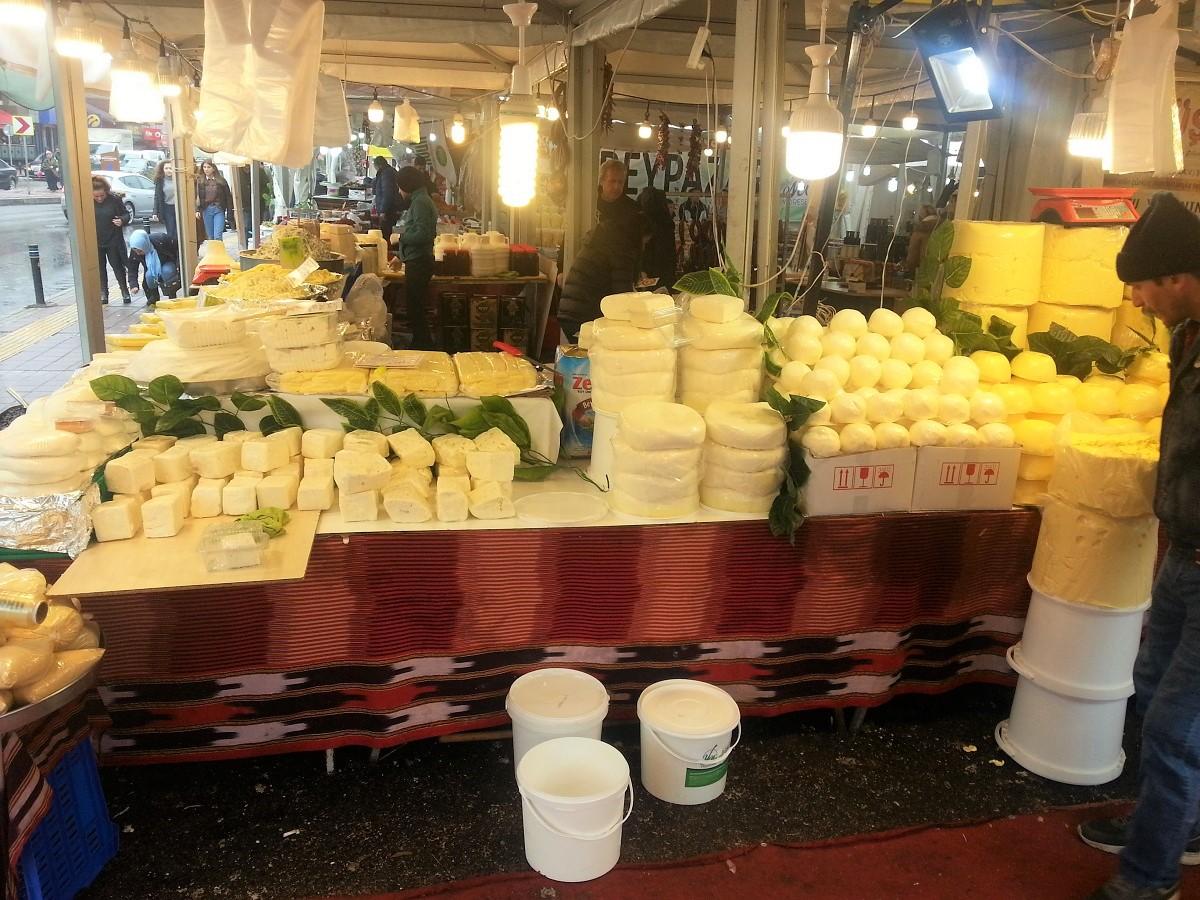 Açıkta satılan,peynir