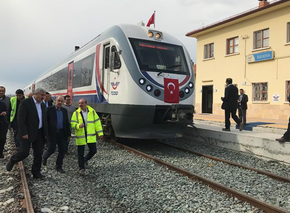 Samsun -Sivas, demiryolu