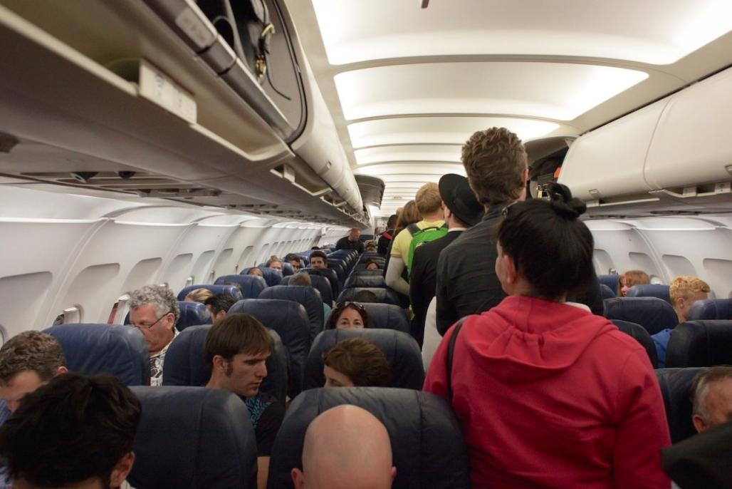 Uçak,kabin
