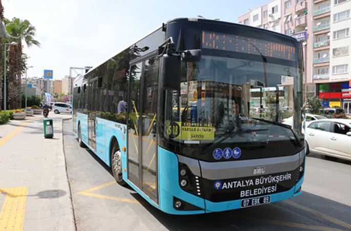 Antalya, toplu taşıma