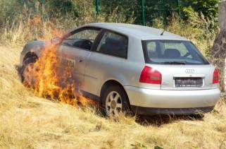 Otomobil,yanma