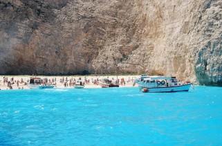 Navagio plajı