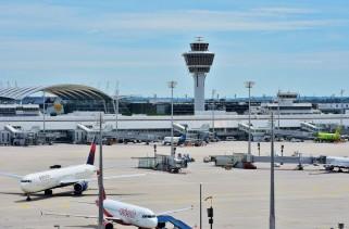 Münih havalimanı
