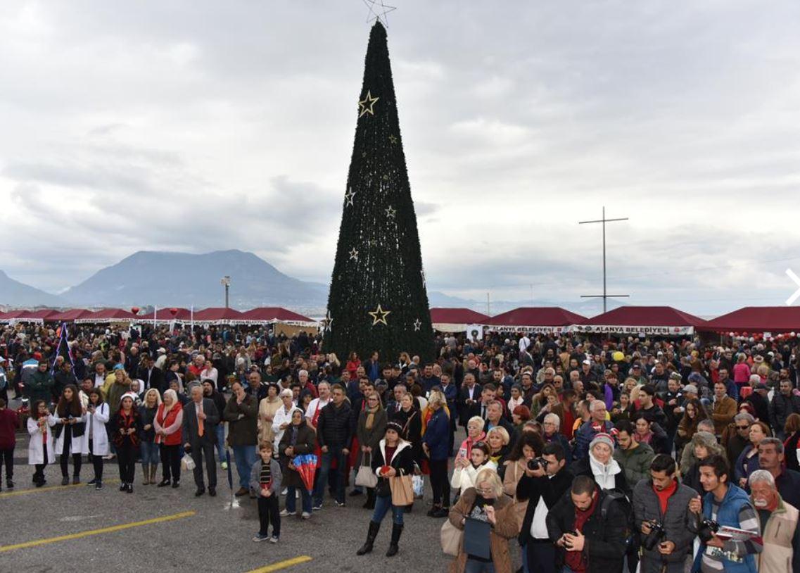 Alanya noel pazarı