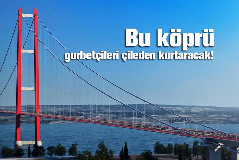 Bu, köprü, Çanakkale köprüsü