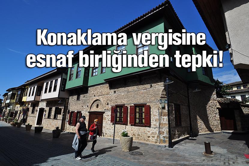 Türkiye, antalya, esnaf, konaklama