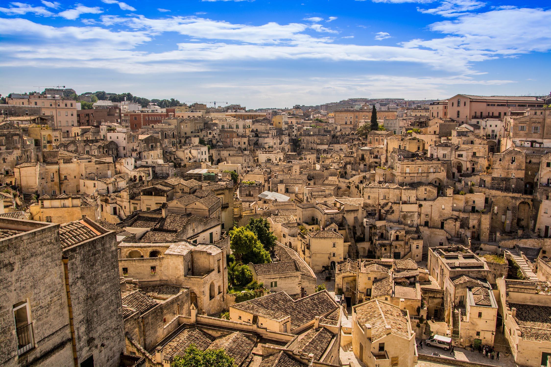 Avrupa,Matera,İtalya