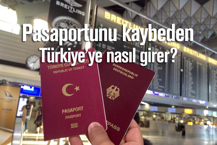 Alman, Pasaport, kayıp, türkiye