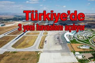 Türkiye, havalimanı