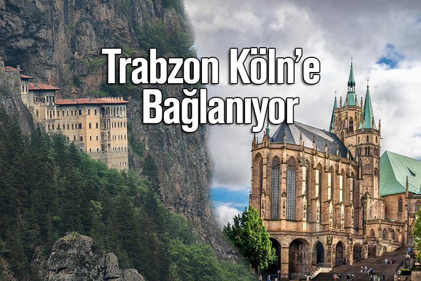Köln, Trabzon, uçuş, sefer