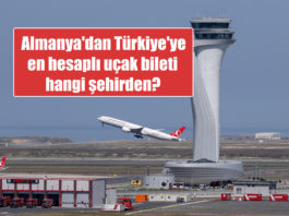 Türkiye'ye en hesaplı uçak bileti hangi şehirden